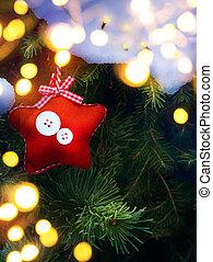 art Christmas card background