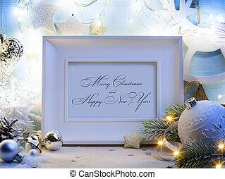 art Christmas decoration