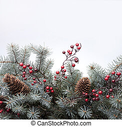 Art Christmas greeting card - Christmas card