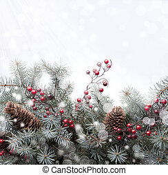 Art Christmas greeting card - Christmas card