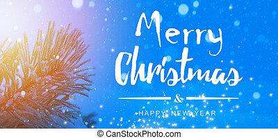 Christmas holidays banner