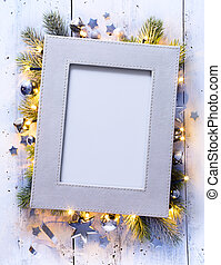 Art Christmas holidays decoration background
