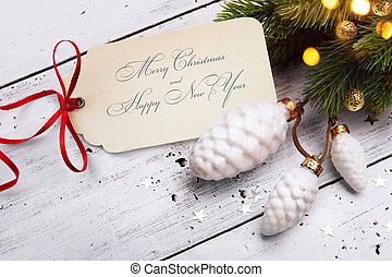 art Christmas holidays sale; tree light background;