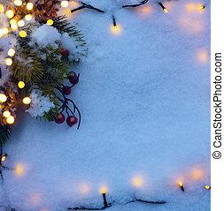 art Christmas holidays snow background