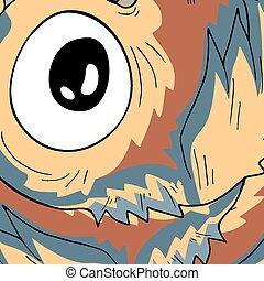 Art color eye