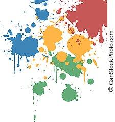 art color paint background
