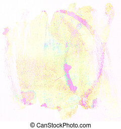 Art colorful paint circle of watercolor background