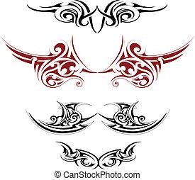 art corps, tatouage