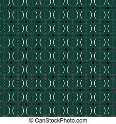Art Deco Circle Pattern