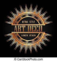 Gatsby illustrations and clipart 860 gatsby royalty free for Element deco design