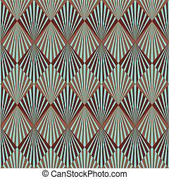 Art Deco pattern - Art Deco style seamless pattern texture