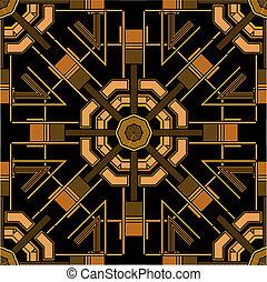 art deco auszeichnungen vektor deco kunst abbildung satz auszeichnungen. Black Bedroom Furniture Sets. Home Design Ideas