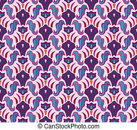 Art deco seamless pattern in editable vector file