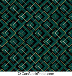 Art Deco Squares Pattern