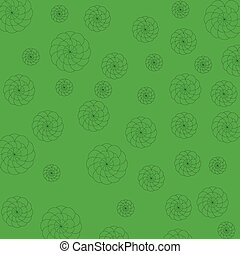 green and flower background