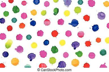 art, eclabousse, coloré