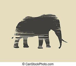 art elephant draw