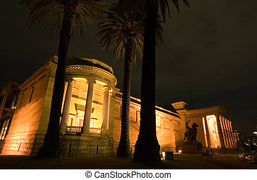 Art Gallery of New South Wales, One of Australia's leading art museums.