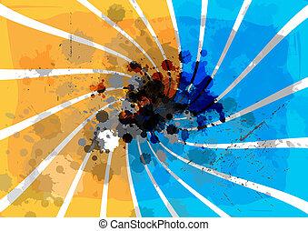 art grunge background design
