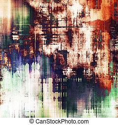 Art grunge vintage textured background