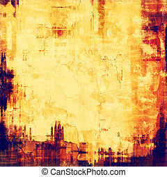 Art grunge vintage textured background. With different color...