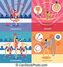 Art Gymnastics 2x2 Design Concept
