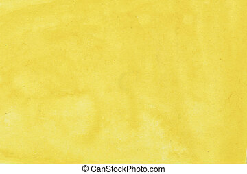 Art hand paint yellow watercolor background.