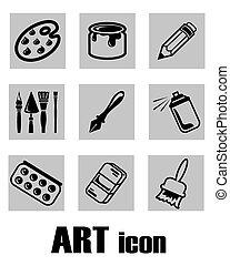 art icon supplies