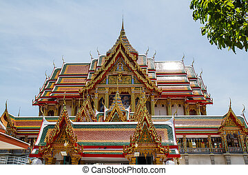 Art in temple of Thailand
