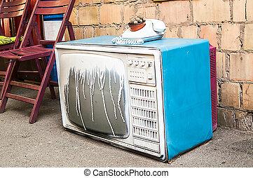 art interior space TV