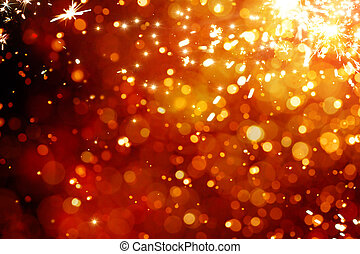 Art magic Christmas Background. Golden Holiday Abstract Glitter