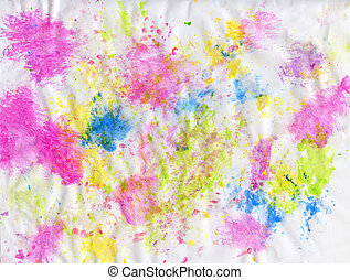 Art masterpiece. Abstract oil painting. Picture painted by hands. Brushstrokes of different colors.