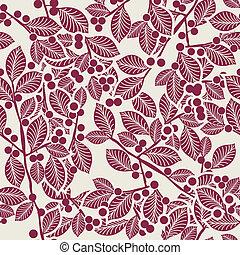 Art Nouveau pattern