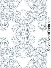 Art Nouveau style ornament