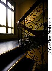 Art Nouveaux Staircase