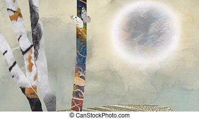 art., nowoczesna natura, abstrakcyjny