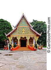 Art of Buddhist church on northern of Thailand
