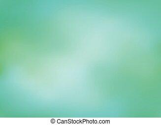Art of green blur with dark blue gradient background.