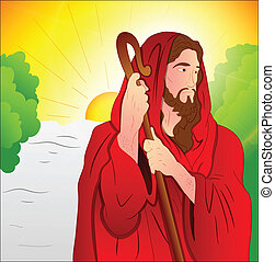 Art of Jesus Christ - Beautiful Design of Art of Jesus...