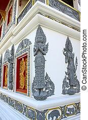 Art of Thai Buddhism church
