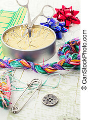 art of weaving and embroidering