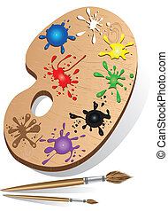 Art palette icon