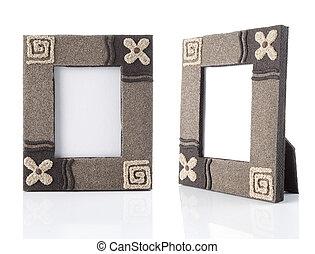 photo-frame on table