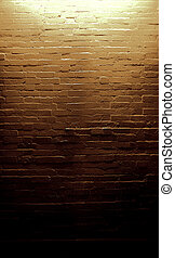 Art photo of a orange wall