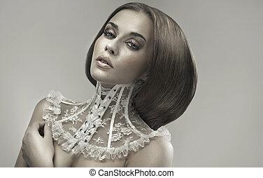 Art photo presenting the portrait of woman