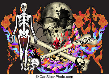 art-rock-skulls