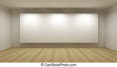 art, salle, cadre, concept, illustration, blanc, galerie, ...