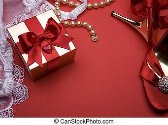 art, salutation, valentin, sexuel, carte, heureux