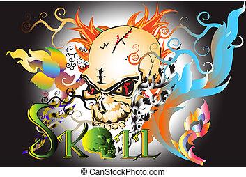 art-skull-design