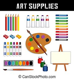 Art Supplies Collection